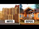 Casa feita de paletes-incrivel-