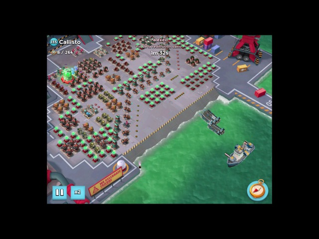 Callisto Mortar Warp by Brach alexeï ● Boom Beach ● Quebec Legends