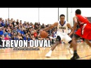 Trevon Duval Is DUKE's Next Great PG! Senior Year Highlights - Tricky Tre