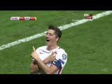 Польша - Румыния 3:1. Обзор матча. Квалификация ЧМ-2018.