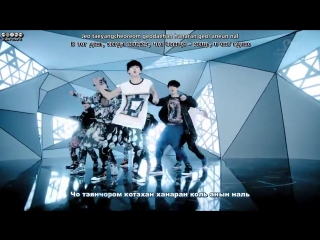 EXO-K - History рус. саб [КАРАОКЕ] 08.03.2012