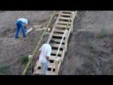 Завершение строительства лестницы через коллектор между Некрасовкой и Люберцами
