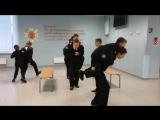 Репетиция поздравительной открытки ко Дню рождения РВВДКУ