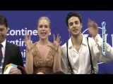 Four  Continents Championships 2017. Ice Dance - FD. Kaitlyn WEAVER  Andrew POJE