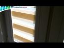 Рулонные шторы День-Ночь Закрытого типа для пластиковых окон Тканевые ролеты Зебра