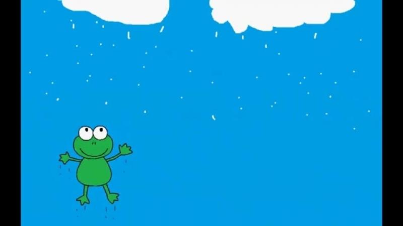 Il pleut il mouille cest la fête à la grenouille comptine pour bébé