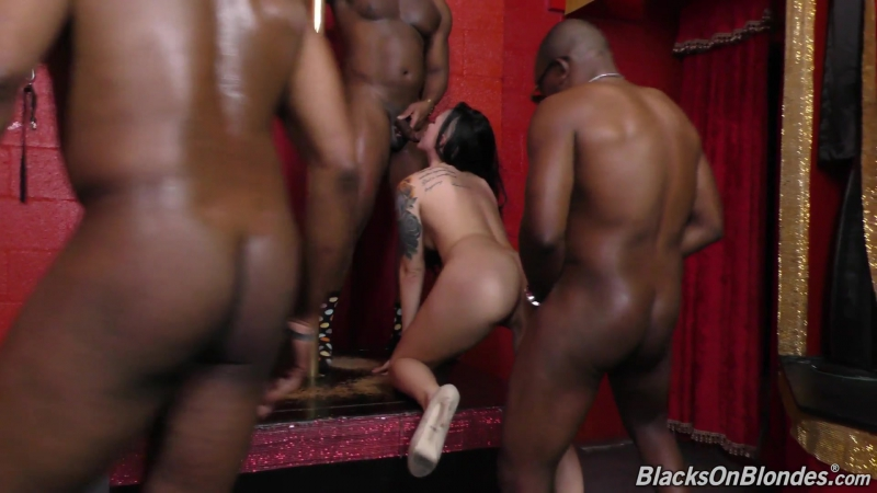 Blacks On Blondes Rachael Madori (1080p) Interracial, Creampie, Anal, 3 on 1, Facial,