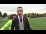 Видео нападения футболиста Челси на репортера в прямом эфире