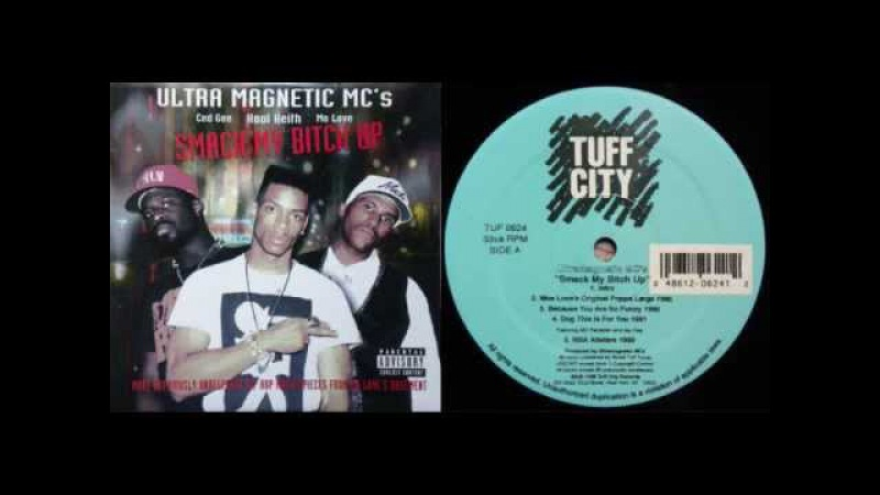 ULTRAMAGNETIC MCs - Smack My Bitch Up full LP - Unreleased 1989 to 1992