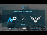 Team NP vs Wings Gaming, Game 1, The Summit 6, LAN-Final