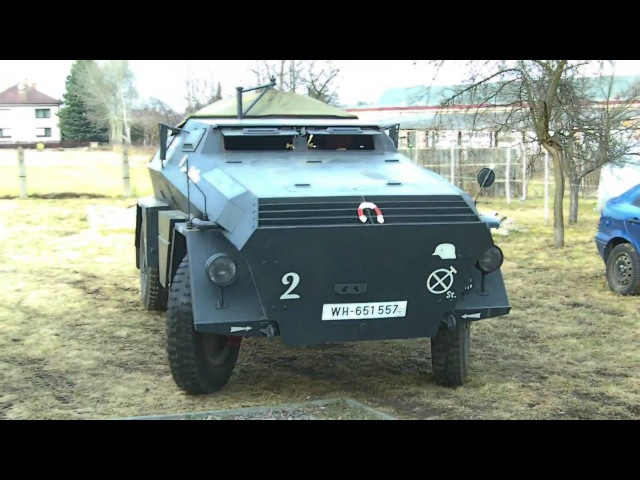 Sdkfz 247B Bataillon Königgratz ABBACA Czech
