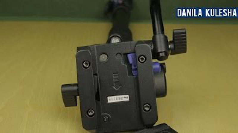 Монопод Benro Обзор комплекта для съемки видео A49TDS4
