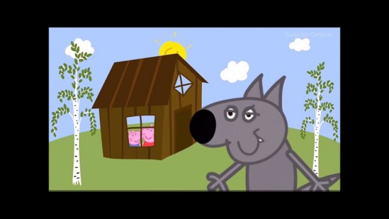 BIG BAD WOLF AND THREE LITTLE PIGS AND LITTLE RED RIDING HOOD COMPILATION
