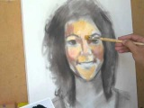 Retrato a óleo. Chica al oleo. Girl in oil. - Parte 1