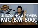 [UNBOXING REVIEW] Mic Condenser BM-8000 (Taffware BM-8000) | Indonesia