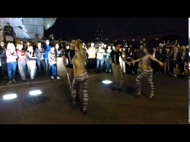 Очень красивый танец Kizomba Semba Hypnosis for male eyes ( до конца)