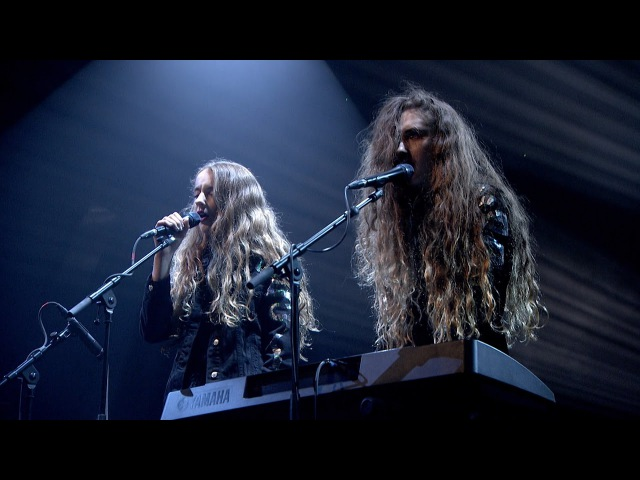Let's Eat Grandma Deep Six Textbook Later… with Jools Holland BBC Two