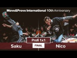 Saku vs. Nico | FINAL | Profi 1x1 @ MoveProve «10th Anniversary»