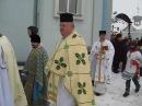 Обхід навколо церкви. Храмовий празник. Парафія Св.Василія Великого смт.Козова 14