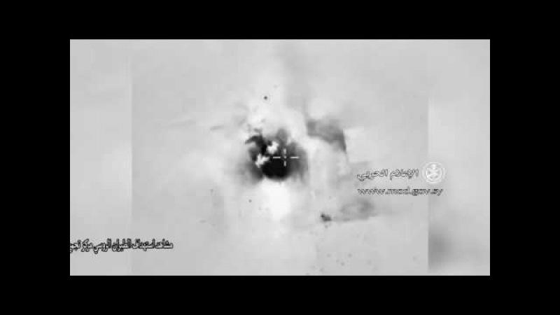 Мощные удары ВКС РФ сожгли базу ИГИЛ после получения данных от разведки США