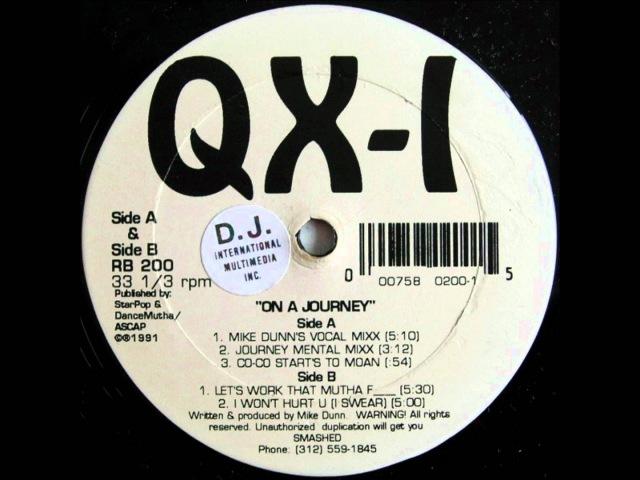 QX-1 - I Wont Hurt You (I Swear) 1991