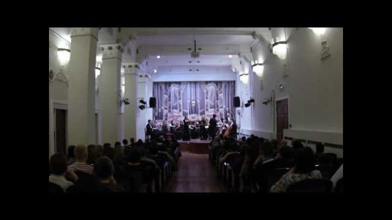 B-A-C-H - Солисты и оркестр - Г. Ф. Телеман - Концерт для 2-х скрипок ми минор, 2017.3.5