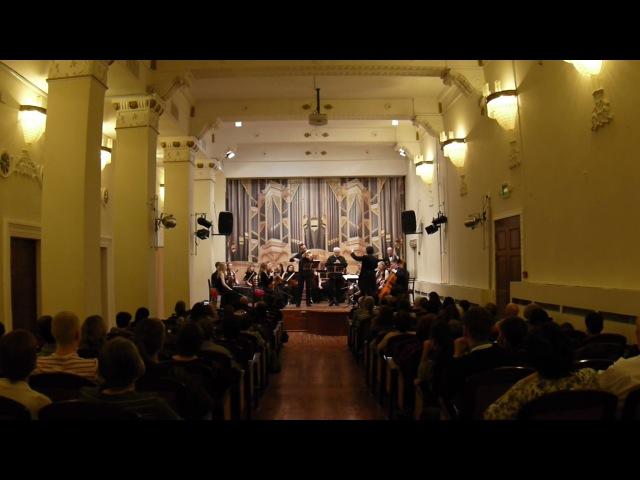 B-A-C-H - Солисты и оркестр - Г. Ф. Телеман - Концерт для блокфлейты и виолы да гамба, 17.3.5