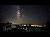 The Milky Way above the Volcano - A Time Lapse in 4k
