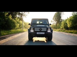 Mercedes-Benz Gelandewagen. СТО