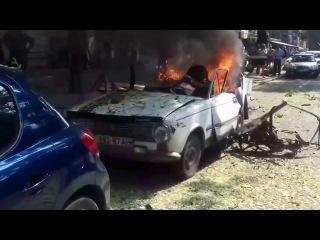 Взрыв автомобиля в Одессе в центре города