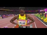 TA LOU 22.50 WINS Women's 200m Semi Final 3- World Championships London 2017