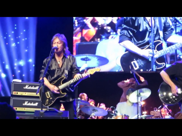 Chris Norman Band Orchestra in Budapest - 22 April 2017 - The start