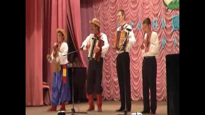 Виступ ансамбля Гармошечка в Градижську