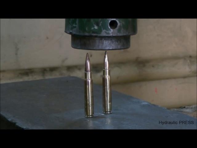 Винтовочные патроны Под гидравлический пресс 500 тонн