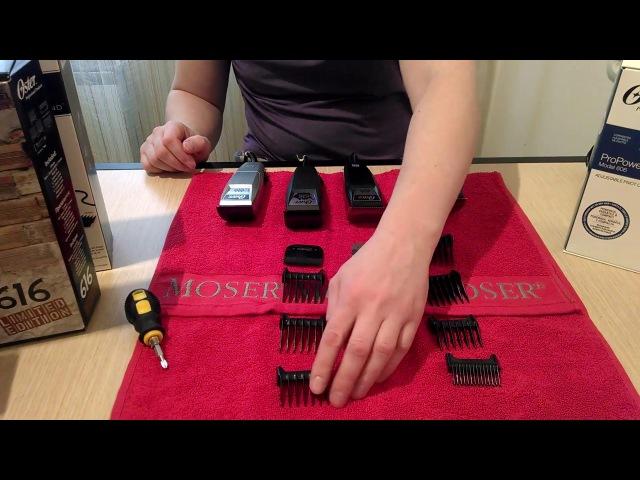 Вибрационные машинки Oster: 606 Pro-Power, 616-91j, 616-50 Soft Touch, 616-70A Silver Edition