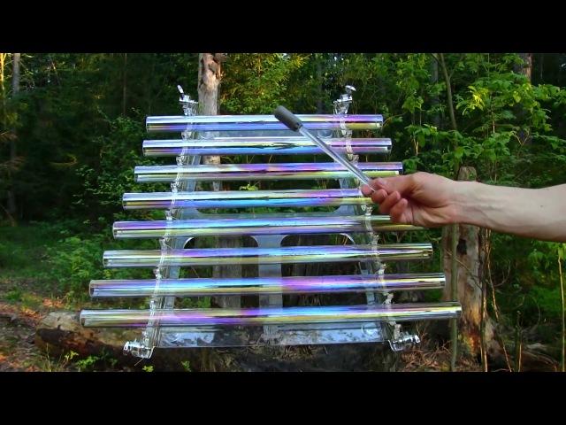 Алхимическая радужная арфа с ионами серебра лаборатории Svaritanum.