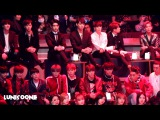 [HD] 161202 GOT7 NCT Reaction to EXO Monster Stage in MAMA HK