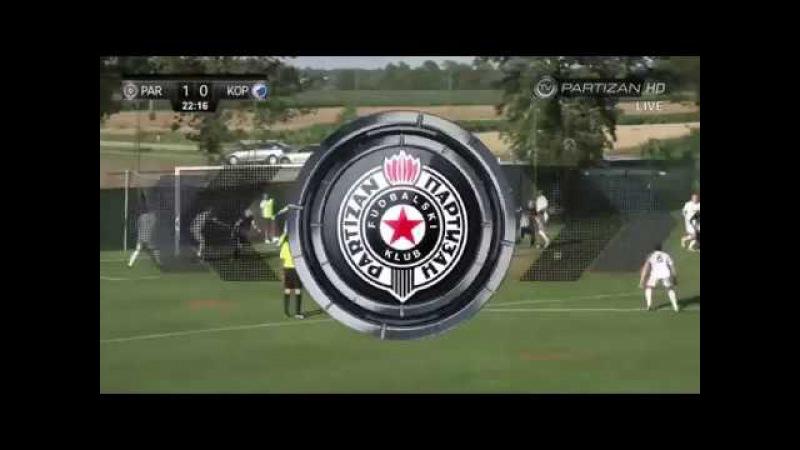 TV Partizan Golovi sa utakmice Partizan Kopenhagen 3 2