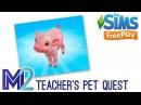 Sims FreePlay - Teacher's Pet Quest (Tutorial Walkthrough)