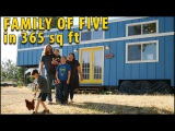 Family of 5 Downsize to a Nerdy Tiny House with No Mortgage