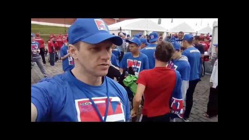 22.07.17 - СТАВИМ РЕКОРД ГИННЕСА ! Тренировка по боксу на Красной Площади.