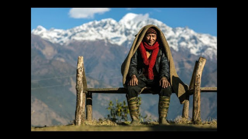 Жители Гималаев. Фильм про Тибет. Страна находящаяся под господством Китая. Будд...