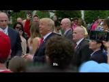 Трамп и красная бейсболка
