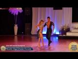 WSS16 Professional Salsa Cabaret World Champions Ricardo Vega Karen Forcano