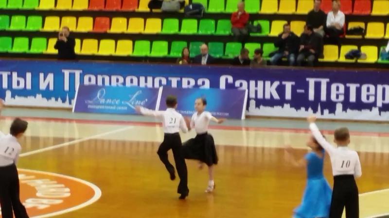 Джайв на Чемпионате Санкт Петербурга по бальным танцам 20 01 2017