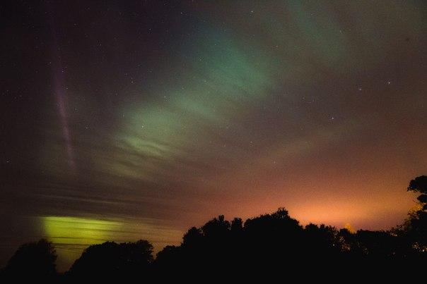 Ленобласть увидит северное сияние  ▬▬▬▬▬▬▬▬▬▬▬▬▬▬▬▬▬  Магнитная буря о