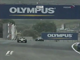 F1 2004. Гран-при Бразилии. Гонка