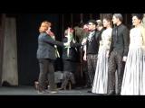 Поклоны премьерного спектакля Собака на сене. Театр Сатиры, 16.03.16 г