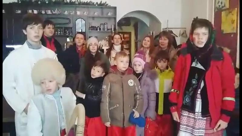 Щедрування у Львівській Кав'ярні