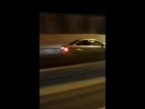 Девушка в Сочи гонит по встречке на полной скорости